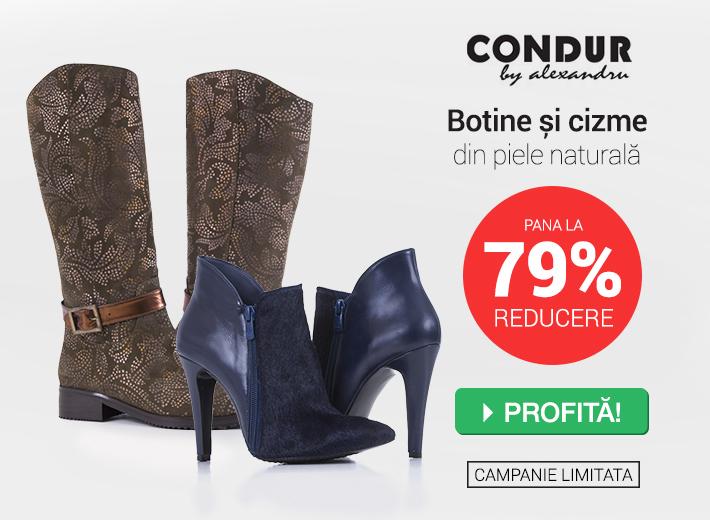 oferta botine condur fashionup