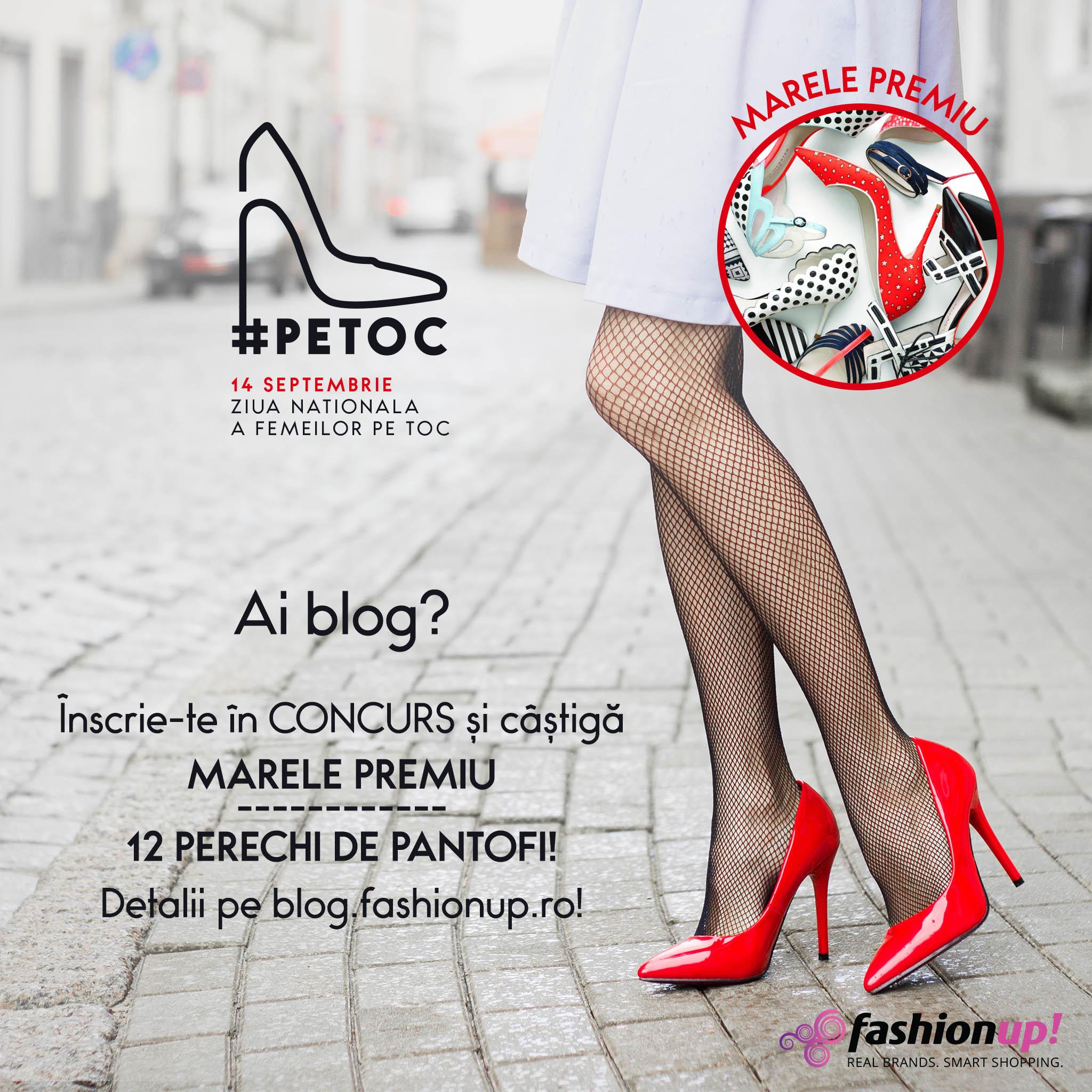 Concurs bloggeri FashionUp