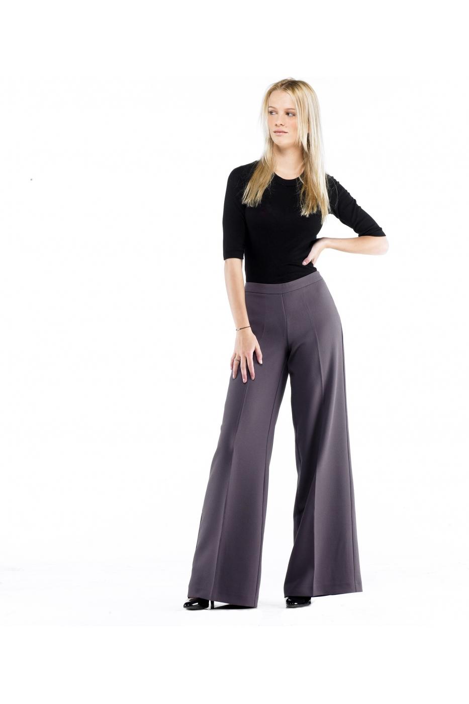 Pantaloni Stefanel largi