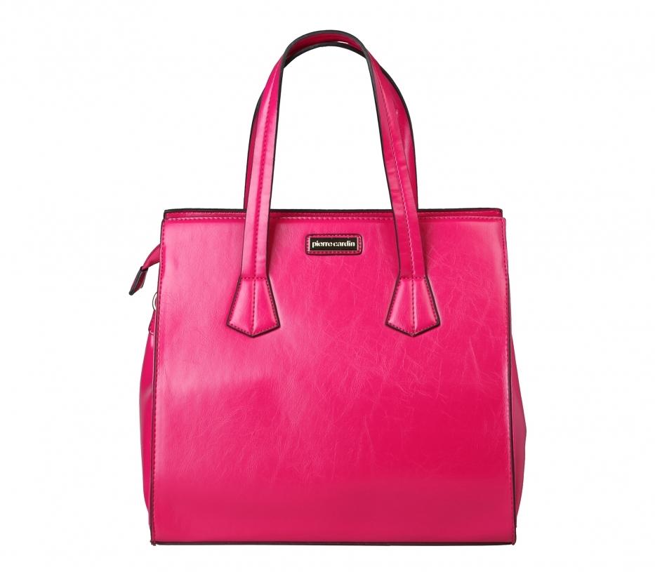 Geanta Pierre Cardin roz fashionup