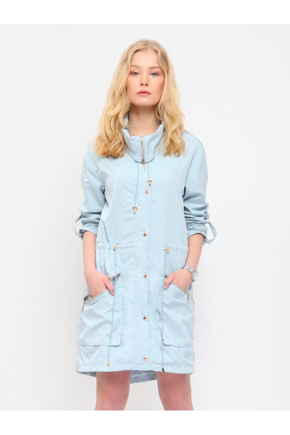 Jachetă lungă DRYWASH pentru toamnă. (FashionUP)