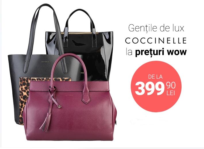 Profită de oferta la gențile Coccinelle!