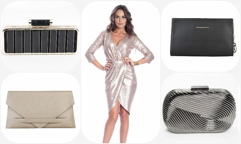 Sugestii Plicuri FashionUP pentru rochia cu paiete
