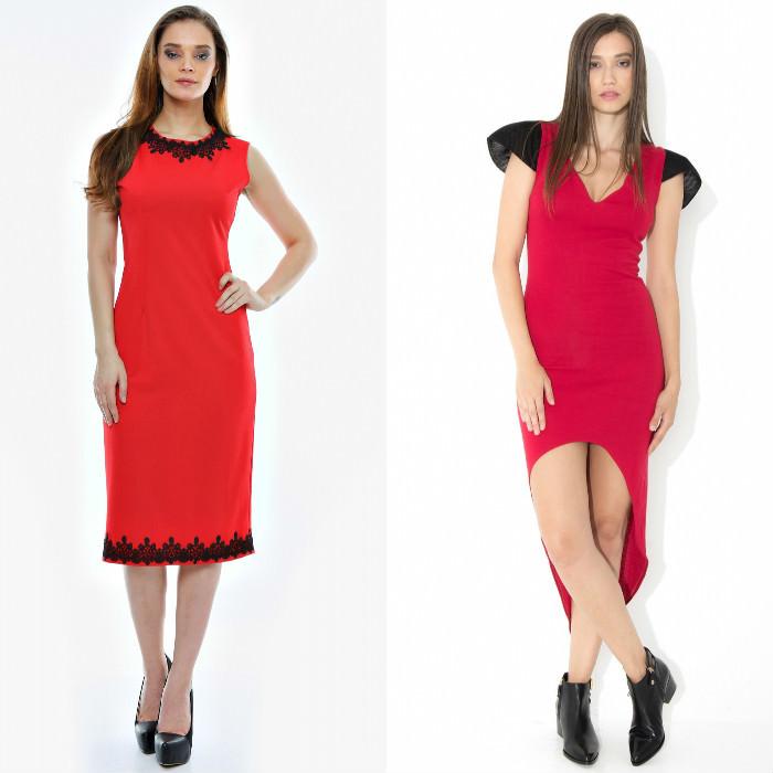 rochii rosii FashionUP