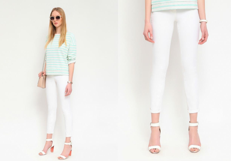 Jeans Top Secret albi din bumbac FashionUP