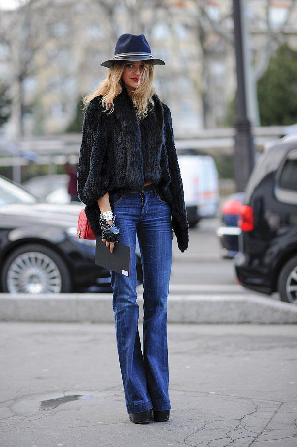 how-to-wear-flared-jeans-in-2015-3